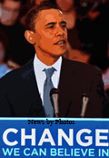 President Barack Obama CHANGE We Can Believe In