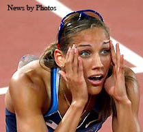 "Lori ""Lolo"" Jones , Hold Your Head Up Champion"