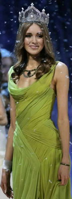 Miss World 2008 and the Winner is Miss Russia Kseniya Sukhinova