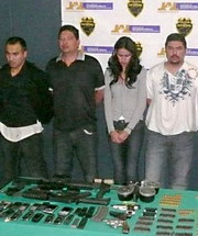 Laura Zuniga Detained in Guadalajara Guns n Money
