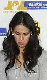 Miss Sinaloa in Handcuffs