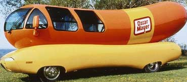 Oscar G. Mayer Top Dog Oscar Mayer Wiener King Dead at 95 No Baloney above is the Wienermobile touring America for 73 years