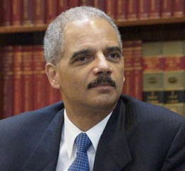 Eric Holder DOJ Attorney General lips are sealed silent on New Black Panther Party  King Samir Shabazz public death threat to all white people I hate all white people every last iota of them You want freedom kill some crackers
