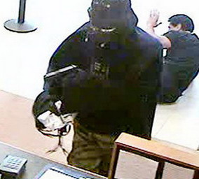 NY Police say the Darth Vader bank robber entered a Setauket, Chase bank branch on Long Island armed with a pistol and demanded money.