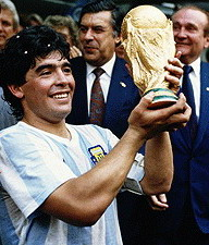 Mr. Football Diego Maradona Hand of God  mano de Dios fired as Argentina national team coach treason is everywhere